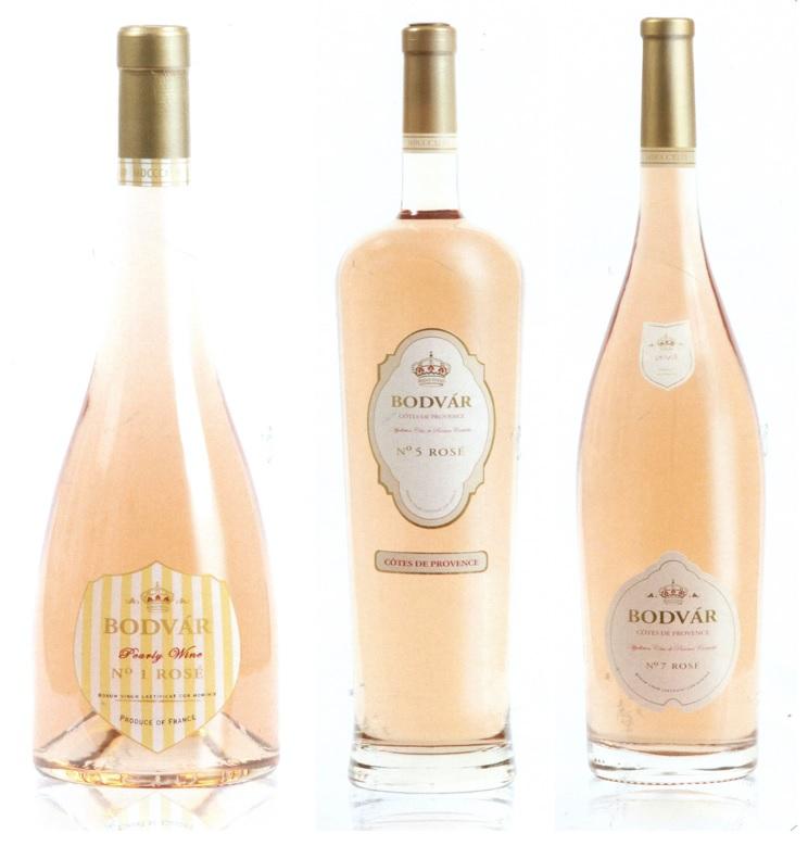Bodvar bottles